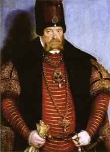 Joachim II. Hektor. Gemälde des Lucas Cranach der Ältere um 1550.