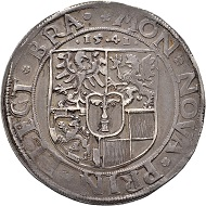 Joachim II. Taler 1541, Berlin. Äußerst selten. Sehr schön. Taxe: 20.000 Euro. Aus Auktion Künker 300 (2018), Nr. 9.
