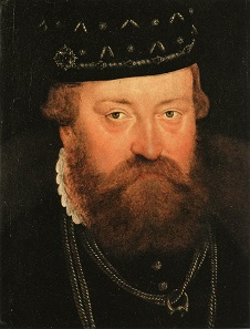 Johann Georg. Gemälde des Lucas Cranach des Jüngeren von 1564.