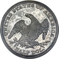 1838-O 50C GR-1, R.7, Branch Mint PR63 PCGS. CAC. From The Jenkins Family Collection.