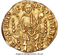 Henry III, 1216-1272. Gold Penny of 20 Pence ND (c. 1257). MS63 NGC. Estimate: USD 250,000-500,000.