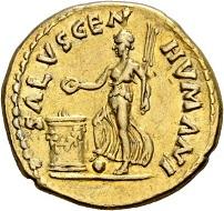 135 - Galba Collection. Galba, 68-69. Aureus, July 68 - January 69. RIC 147. Extremely fine. Estimate: CHF 10,000. Hammer price: CHF 40,000.