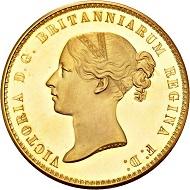 450 - Großbritannien. Victoria, 1837-1901. 5 Pounds 1839