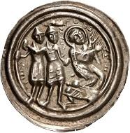 Halberstadt. Ulrich von Reinstein, 1149-1160. Bracteate. From Künker sale 301 (2018), No. 520.