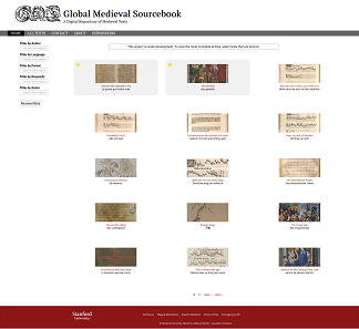 """Global Medieval Sourcebook – A Digital Repository of Medieval Texts""."
