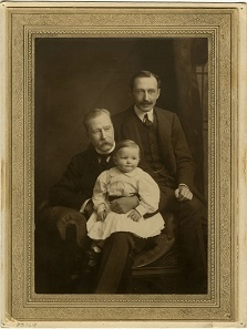 1895 photograph showing George Archer-Shee – the real-life Winslow Boy. Photo: Bank of England Museum.