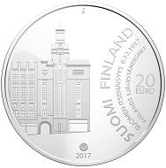 Finland / 20 Euros / Silver .925 / 25.5g / 38.6mm / Design: Ilkka Suppanen / Mintage: 2017.
