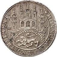 No. 899: Northeim. Reichstaler 1671. Very rare. Very fine. Estimate: 20,000,- euros.