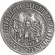Fig. 7: ZURICH. Guldiner 1512. Hürl. 422. HMZ 1121. Sale 88 Leu Numismatics (2003), lot 1806. Estimate: 12.500. Hammer Price 12.000 CHF.
