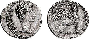 Nr. 2374: Römisches Kaiserreich. Augustus. 27 v. Chr. - 14 n. Chr. Cistophor. Taxe Euro 12.500,-