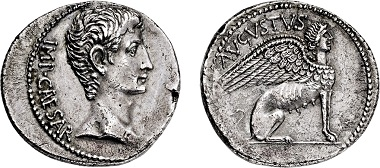 Nr. 2374: Roman Empire. Augustus. 27 B.C. - 14 AD. Cistophor. Estimate: EUR 12.500,-.