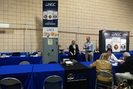NGC had a gigantic booth, which nearly occupied an entire side of the convention hall. Photo: UK.