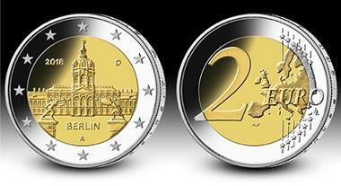 "Die 2-Euro-Gedenkmünze ""Berlin"" in der Serie"