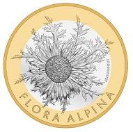 Schweiz / 10 CHF / Kupfer-Nickel (Kern), Aluminiumbronze (Ring) / 15 g / 33 mm / Design: Jenny Leibundgut / Auflage: 29.000 (unzirkuliert), 5.500 (Polierte Platte).