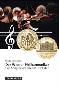 Ursula Kampmann, Der Wiener Philharmoniker. Eine Anlagemünze schreibt Geschichte. Gietl Verlag, Regenstauf 2018. 120 Seiten. 14,8 x 21 cm. Hardcover. ISBN: 978-3-86646-145-1. 14,90 Euro.