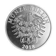 Berlin Prägt Einen Giganten Für Einen Giganten News Münzenwoche