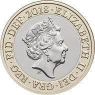 United Kingdom / 2 GBP / Inner: Cupro-nickel; Outer: Nickel-brass / 12.00g / 28.40mm / Design: Jody Clark (obverse) and Stephen Raw (reverse).