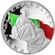 Italy / 5 euro / .925 silver / 18g / 32mm / Design: Luciana De Simoni / Mintage: 5,000.