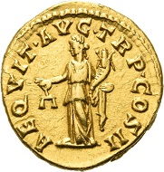 No. 666: Pertinax, 192-193. Aureus, 193. Extremely fine. Estimate: 25,000 euros.