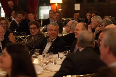 David Hendin at the ANS gala dinner.