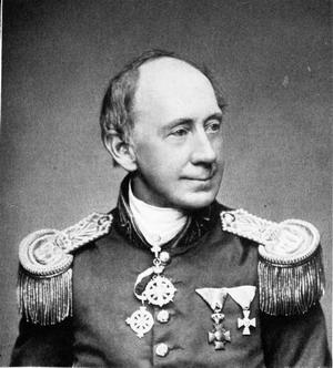 Georg Friedrich Ziebland, mit dem Pour le Mérite für Wissenschaften und Künste.