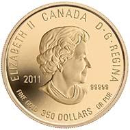 Canada - 350 CAD - 999gold - 35 g - 34 mm - Design: Caren Heine (reverse), Susanna Blunt (obverse) - Mintage: 1,300.