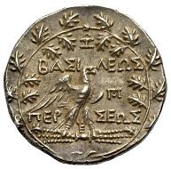 Los 102: Könige von Makedonien. Perseus, 179-168 v. Chr. Tetradrachmon. Schätzpreis 1.400,- Euro.
