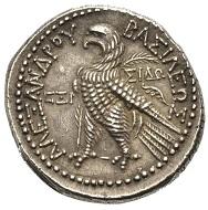 Los 282: Königreich der Seleukiden. Alexander I. Balas, 152-145 v. Chr. Tetradrachmon, Sidon, 147-146 v. Chr. Schätzpreis 850,- Euro.