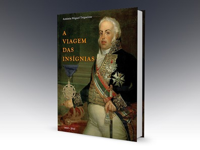 Antonio M. Trigueiros, A Viagem das Insignias. Valor e Lealdade (For Valour and Loyalty. The Journey of the Insignia). 384 pages with color illustrations throughout. Hardcover, 21.7 x 30.5 cm. Portuguese text. ISBN: 978-989-20-7974-5. Price including packaging and registered airmail postage: Europe 58.50 euros; rest of the world 68.50 euros.