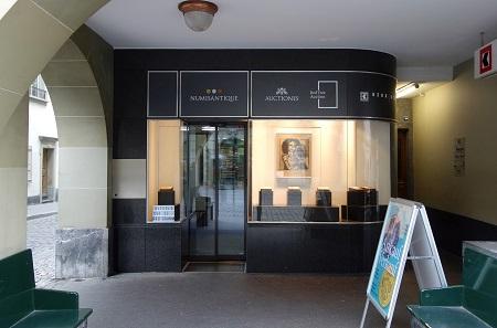 Numisantique freut sich über seine neuen Geschäftsräume in der Gerechtigkeitsgasse 80, Bern.