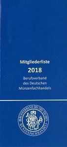Auf 32 Seiten ist eine komplette Mitgliederliste des Verbandes ebenfalls kostenlos erhältlich.