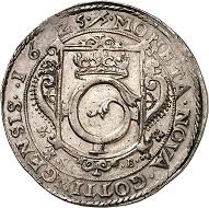 781: Göttingen. Taler 1625. Extremely rare. Extremely fine. Estimate: 20,000 euros. Hammer price: 60,000 euros.