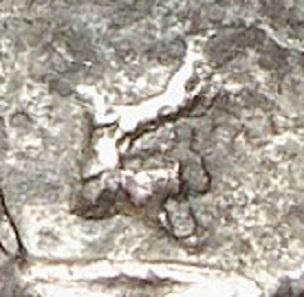 Detail of the previous tetradrachm.