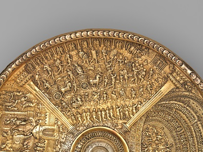 Titus's Roman triumph (detail from the Titus dish), c.1587 - c.1599; Netherlands?; silver gilt; Museu Nacional de Arte Antiga, Lisbon; acc. no. 11.2018. Photo: © The Metropolitan Museum of Art.