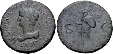 Lot 415: Britannicus, 41-55. Sestertius, struck under Claudius, circa AD 50-54, uncertain Balkan/Thracian mint. Estimate: $2000.