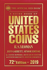 Kenneth Bressett, Q. David Bowers, Jeff Garrett. The official Red Book. A guide book of United States Coins. 72nd edition, 2019. Whitman Publishing. 464 p., full colour.
