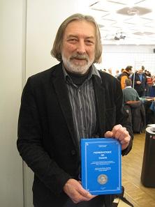 """Serge Hamm präsentierte das Buch """"Numismatique de Thann"""", das er gemeinsam mit dem mittlerweile verstorbenen Jean-Paul Divo verfasst hat."""