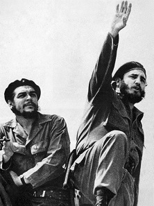 Che Guevara (links) und Fidel Castro 1961 in Havanna. Quelle: Wikicommons.