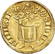 Gerlach von Nassau, 1354-1371. Gold gulden without date. (1360-1365), Eltville. Rare. Very fine. Estimate: 1.000,- euros. From Künker auction 305 (21 March 2018), No. 3759.