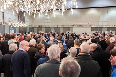 Über 1.000 Münzenfreunde besuchten die Messe in diesem Jahr.