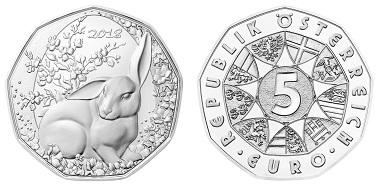 Österreich / 5 Euro / Silber .925 / 8,41g / 28,5mm / Design: Helmut Andexlinger und Herbert Wähner.