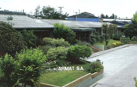 The location of Armat S.A. in Chile. Photo: Armat S.A.
