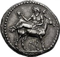 Nomos 7, 2013, 39. Mende, aus dem Kaliandra-Hortfund von 1913 (IGCH 358). Taxe: 35,000 / Zuschlag: 40,000 CHF.
