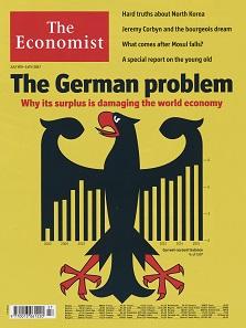 """""""The German Problem"""", Titelseite der Zeitschrift"""