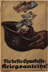 Louis Oppenheim, Plakat zur achten Kriegsanleihe der Reichsbank, 1917/1918. © Deutsches Historisches Museum.