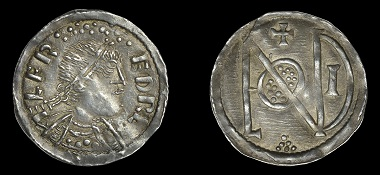 Lot 227: Kings of Wessex, Alfred the Great, Penny, Phase III, London Monogram type. About extremely fine and toned, rare. GBP 8,000-10,000.