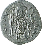 Lombards. Gisulf I of Salerno (946-977). Follaro. From Künker sale 137 (2008), 3778.