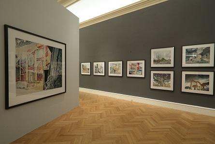 Blick in die Ausstellung. Landesgalerie Linz. Foto: Oö. Landesmuseum, A. Bruckböck.