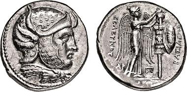 Los 423: Seleukiden. Seleukos I. Nikatoros. 312-280 v. Chr. Tetradrachme. Taxe: 12.000 Euro.