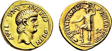 Los 540: Römisches Kaiserreich. Nero. 54-68 n. Chr. Aureus. Taxe: 8.000 Euro.